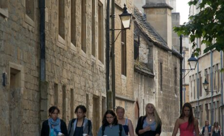 Student life in Oxford, during a pandemic